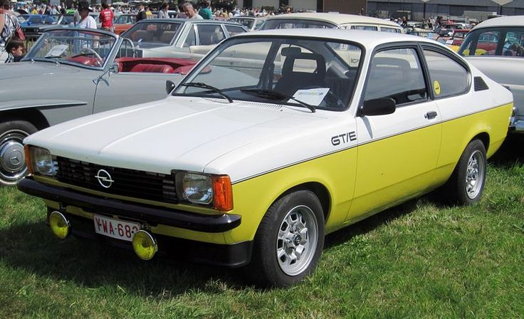 1979 Opel Kadett Coupé GT/E Maintenance/restoration of old/vintage vehicles: the material for new cogs/casters/gears/pads could be cast polyamide which I (Cast polyamide) can produce. My contact: tatjana.alic@windowslive.com