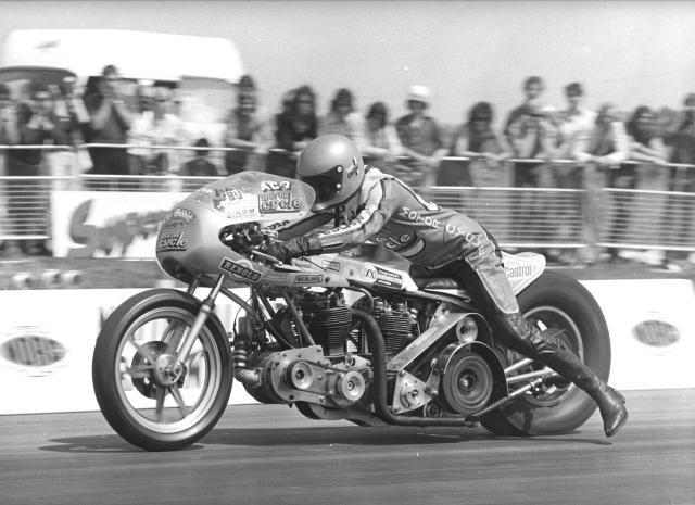 Drag bikes were fun in the '70's too.