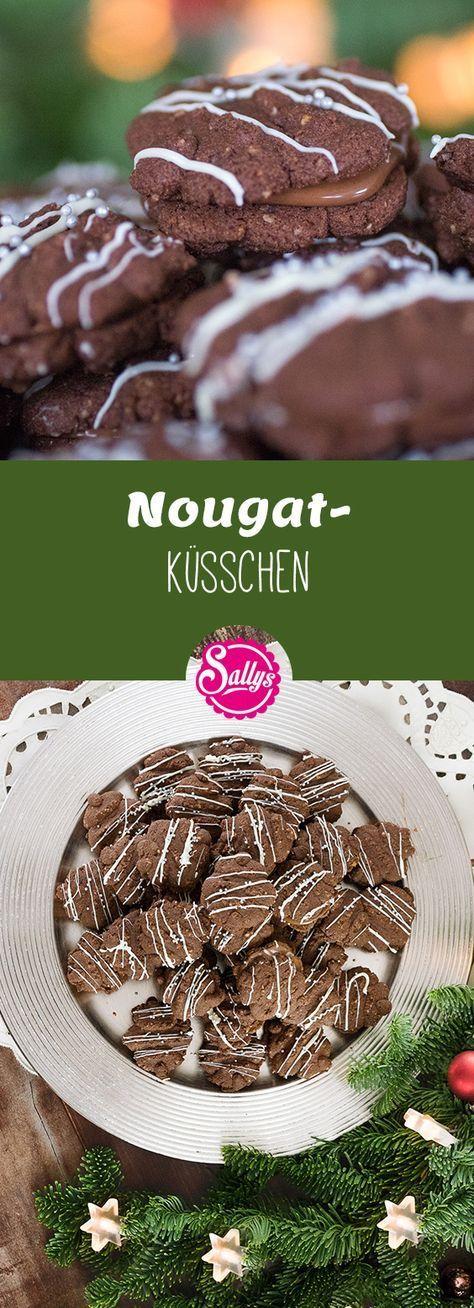 Zarte Schokoladenküche mit Nougatfüllung. Schnelle Zubereitung mit der Geb …