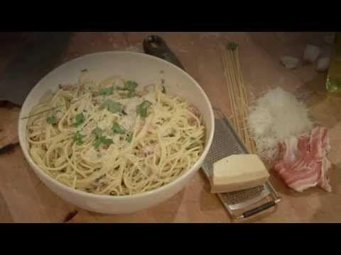 Pasta Carbonara - Hieronder treft u heerlijke wereld gerechten aan geselecteerd door Rene Pluijm | Goed, gezond en lekker eten over de hele wereld