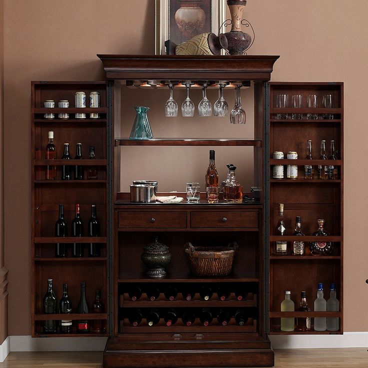 american heritage angelina bar cabinet with wine storage alcohol