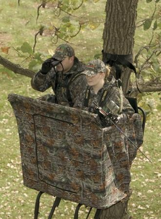 The Buddy Blind Big Game Treestands The Hunt
