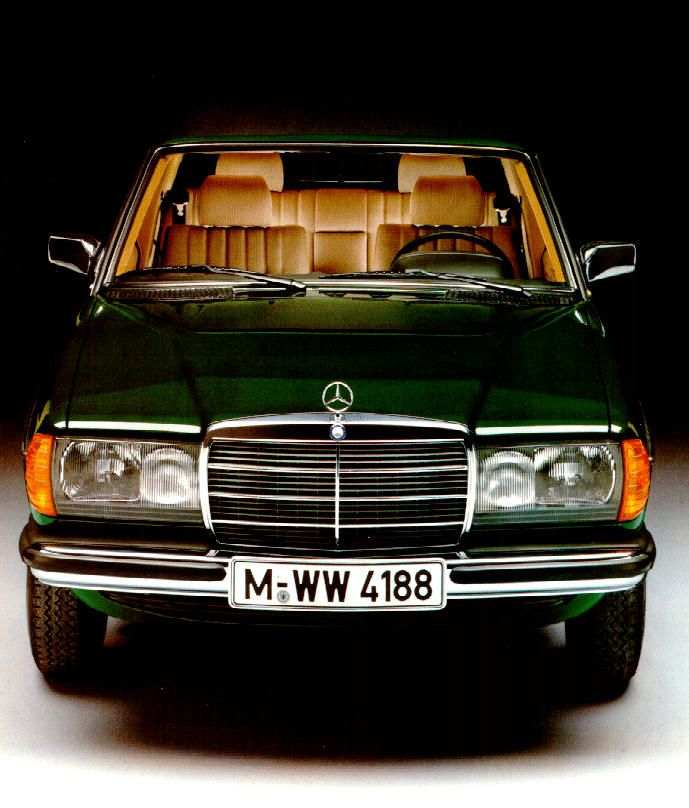 Mercedes Benz W123 Euro Model