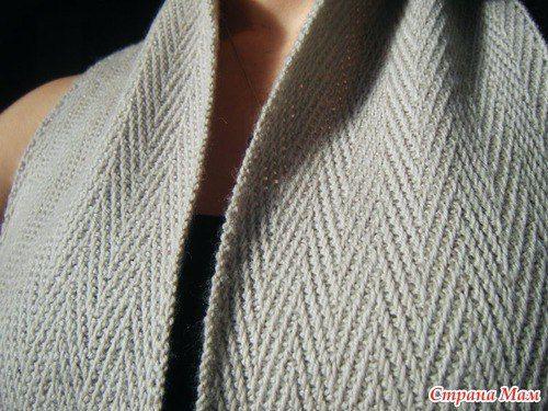 """Солидный мужской шарф """"Генри"""" спицами. Обсуждение на LiveInternet - Российский Сервис Онлайн-Дневников"""