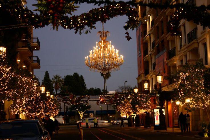 Christmas Time, Downtown,Glendale Americana, Glendale California