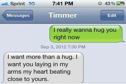 something cute to text a guy - 443×296