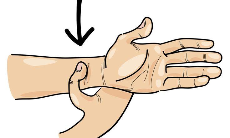 Points sur votre corps:Lorsque vous utilisez vos doigts pour appuyer sur certains points d'énergie sur votre corps, vous pouvez soulager la détresse émotionnelle