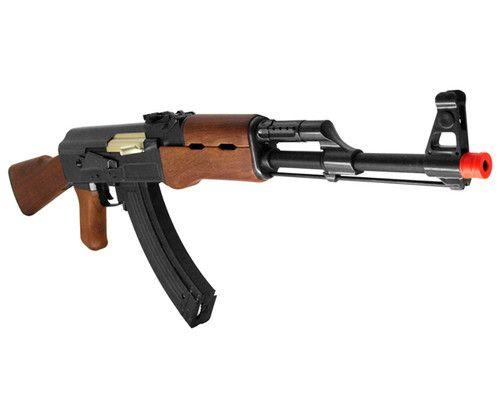 NEW Airsoft AK-47 Wood Metal FULL AUTO Automatic Electric AEG Rifle Gun M900A