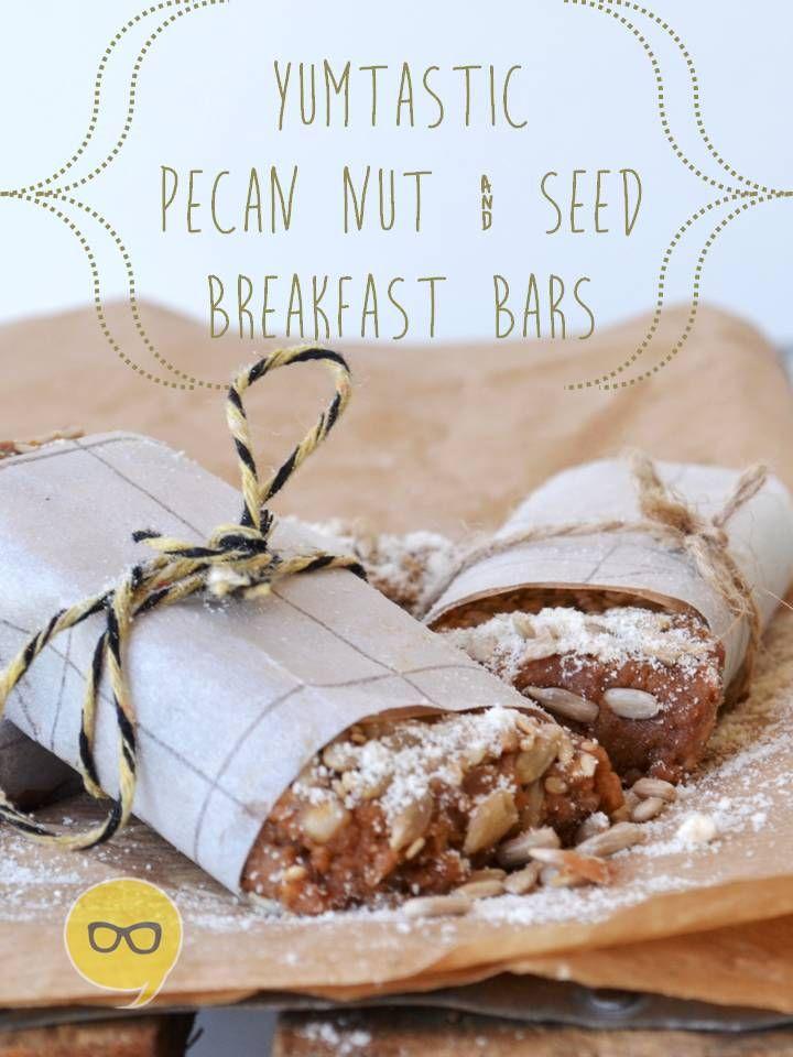 Pecan Nut Breafast Bar