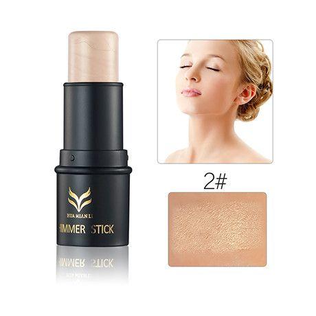 Highlighter Shimmer Stick Bronzer and Highlighter Contour Powder Cream