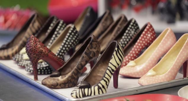 San Valentín: zapatos de chocolate causan furor en Estados Unidos