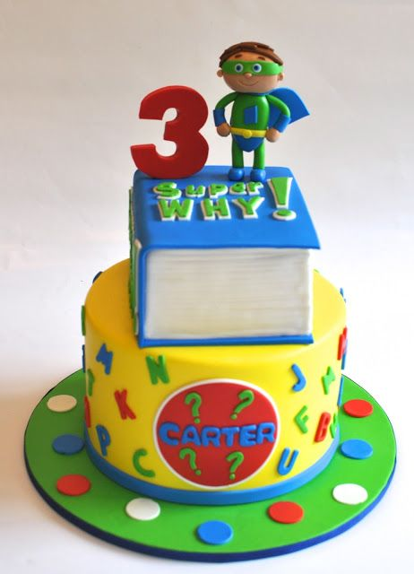 Super Why Cake                                                                                                                                                                                 More
