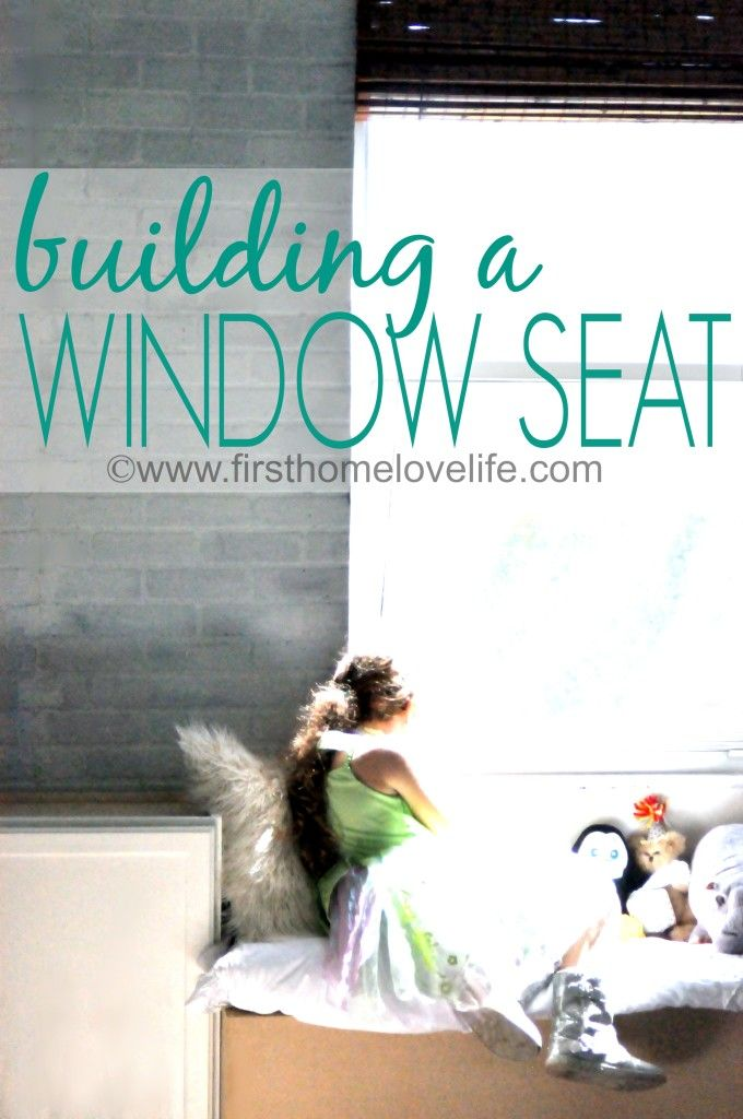 Build a Window Seat - love this idea for a child's room!: Diy Ideas, Building, Decor Ideas, Diy Tutorials, Window Seats For, Windows, Love Life, Seats Diy, Diy Projects