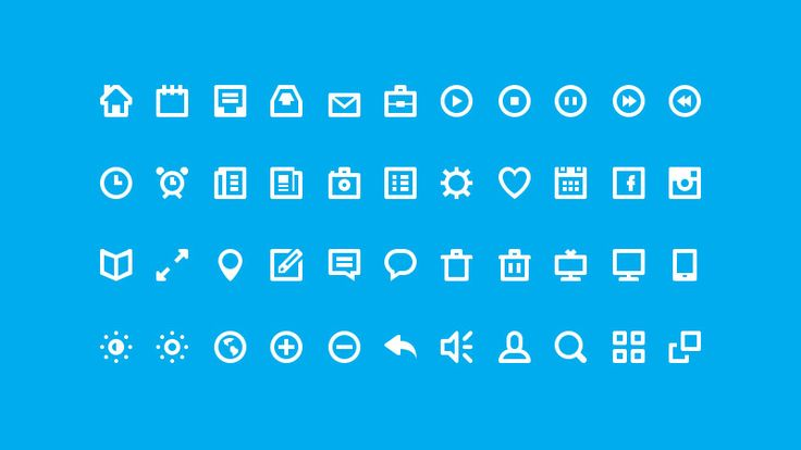 44 Shades of Free Icons