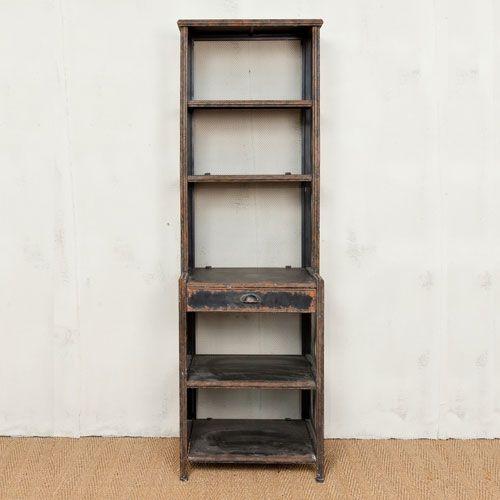 1000 id es sur le th me bibliotheque metal sur pinterest etagere atelier b - Bibliotheque en metal ...