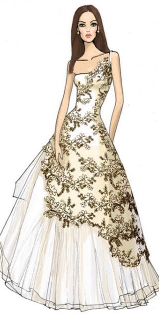 A la Moda Fashion Ilustration.♥..¸¸.•♥•