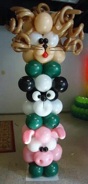 Best 25 balloon columns ideas on pinterest ballon for Balloon decoration chicago