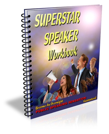 Lose Your Fear Of Public Speaking -   TODAY!