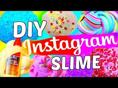 how to make instagram slime without cornstarch