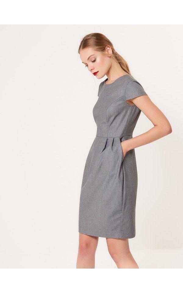 Elegáns ruha kényelmes zsebekkel, MOHITO, SR892-90X