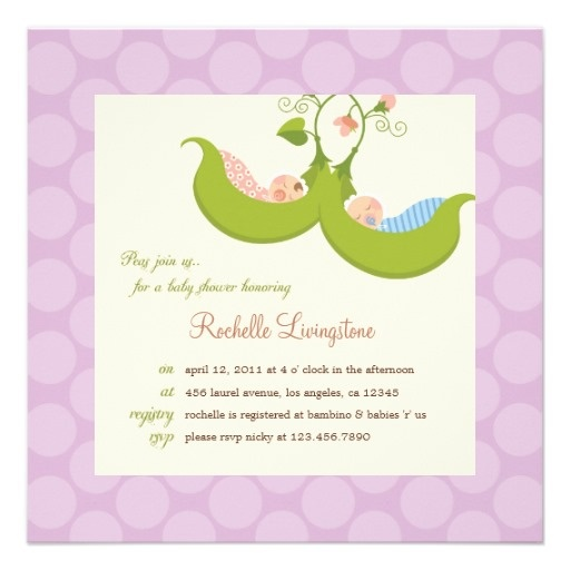 15 best Sweet Pea Baby Shower Invitations images on Pinterest Baby