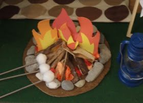 Twinkle's Tutorials & Craft Time. : Tutorial Tuesday - Faux Campfire.