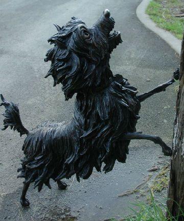 Hairy Maclary sculpture
