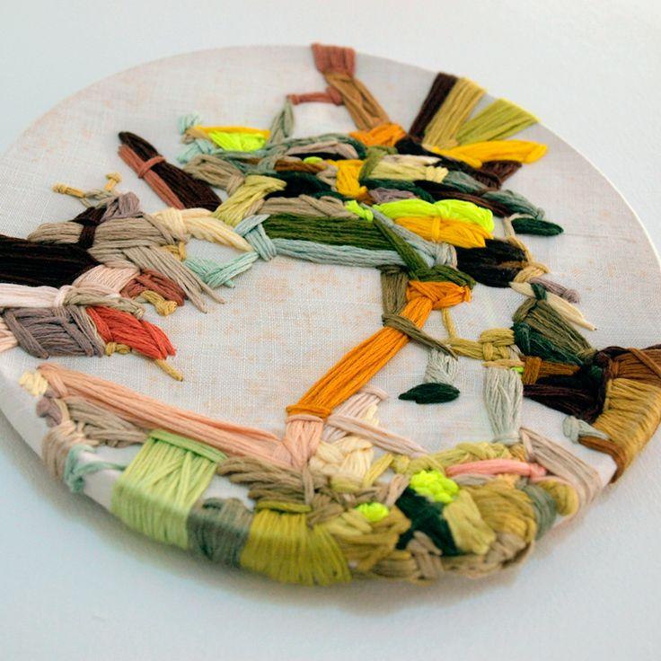 Kate Keara Pelen - N E E D L E W O R K: Liberty London, Art, Mixed Media, Jolly Rancher, Textiles, Keara Pelen, Crosses Stitches, Kate Keara, Embroidery