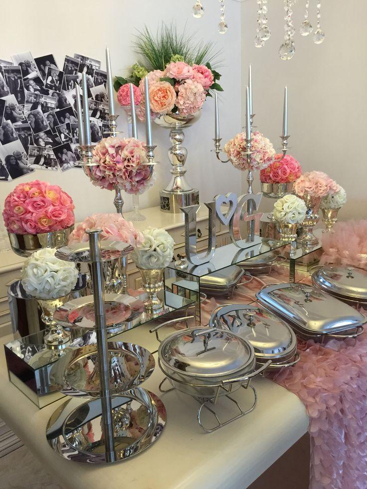 Candy corner, candy buffet, candy bar, engaged, wedding pink wedding