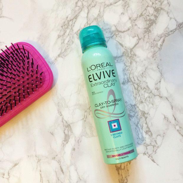 Loreal Elvive Extraordinary Clay Dry Shampoo