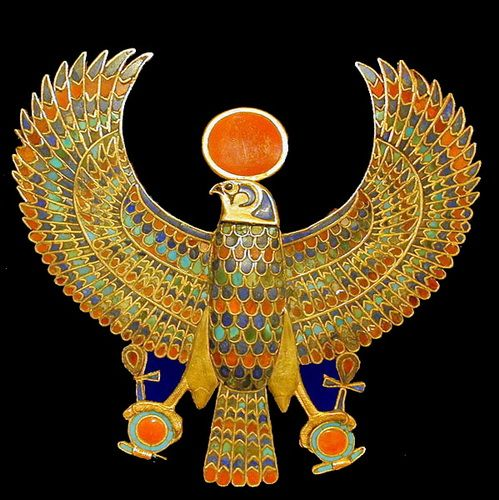 The Ibis bird symbolizes Thoth, known as the ancient Egyptian god of wisdom and the scriber of the words of the gods. Description from pinterest.com. I searched for this on bing.com/images