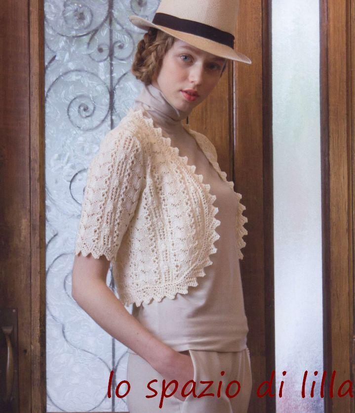 240 best Bolero images on Pinterest | Boleros, Crochet irlandés y ...