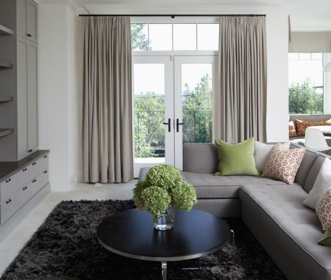 Use Curtains To Make Your Ceiling Look Higher From Home Minimalis