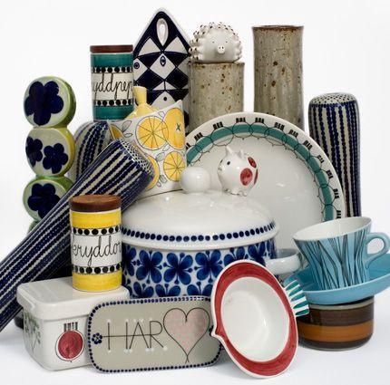 Retro kitchenware by Swedish designer Marianne Westman