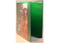 EXP A4 green 40mm four ring presentation binder, Presentation binders with full clear pockets on front and spine.Quality PVC material4 D ring mechanism fitted to back cover http://www.comparestoreprices.co.uk//exp-a4-green-40mm-four-ring-presentation-binder-.asp
