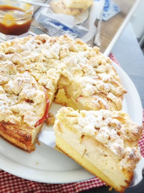 "Ein großes ""YUMMY"": Der Karamell-Apfel-Käsekuchen aus der aktuellen Lecker Bakery | Kaddis Welt"