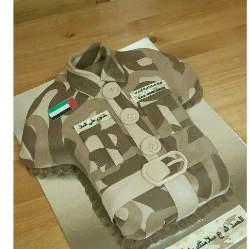 Cake Design Uae : Cakes, Army uniform and Army on Pinterest