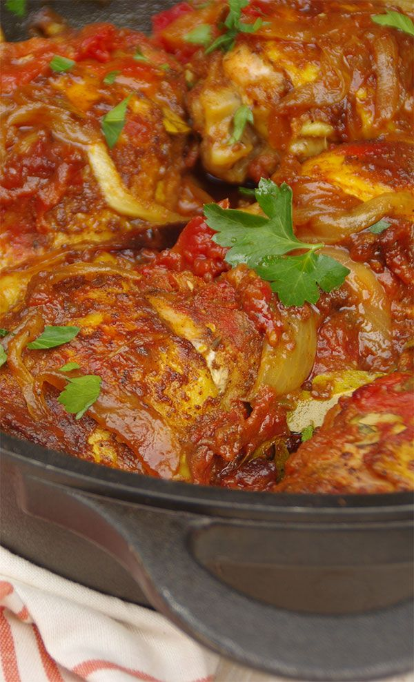 DURBAN CHICKEN CURRY--If you like South African style curry this dish is insane…