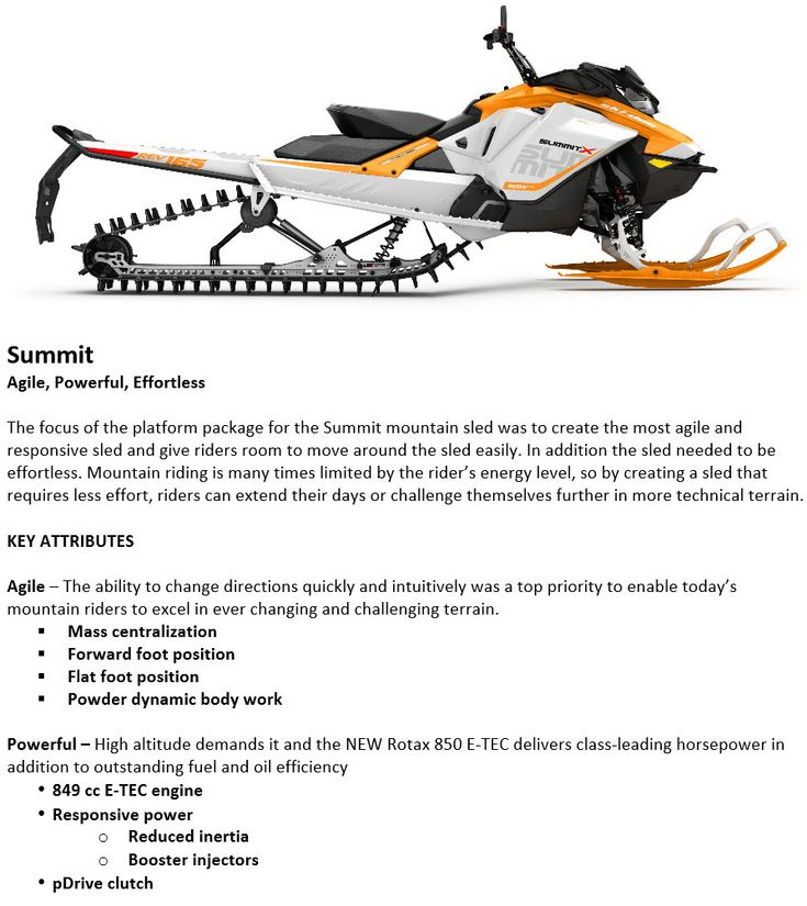 >>>>> OFFICIAL SKI-DOO 2017 SUMMIT REVEAL