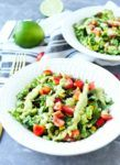 Mexican Chopped Salad Recipe with Spicy Avocado Dressing
