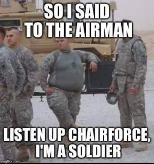 Funny Pictures For Airmen Air Force Jokes Kappit Air Force Jokes Military Humor Air Force Military Jokes