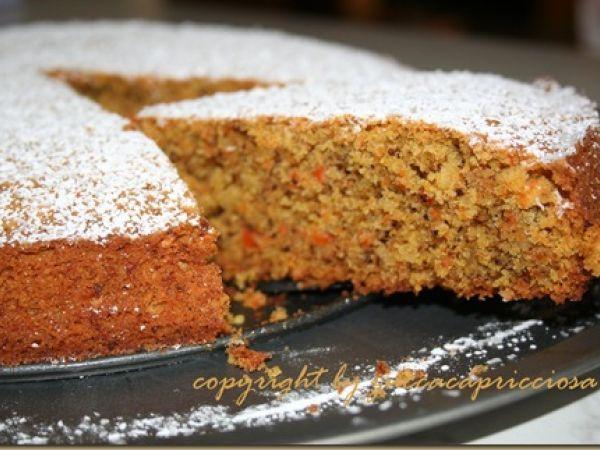 Torta di carote e cannella con farina di Kamut