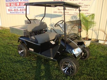 2013 Ez Go Gas Golf Cart, Mild Custom