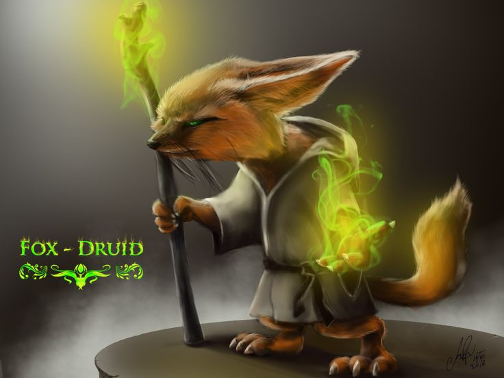 ArtStation - Fox-Druid, Vlad. Mineev
