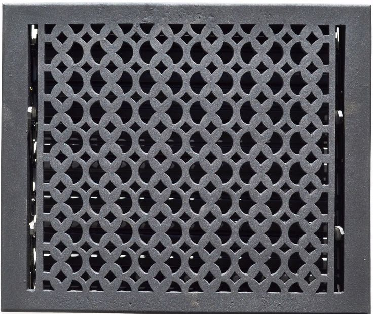 Cast Iron Floor Registers AND Wall Grills Grates eBay