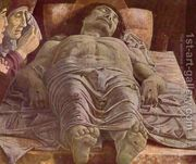 The Lamentation over the Dead Christ c. 1490  by Andrea Mantegna