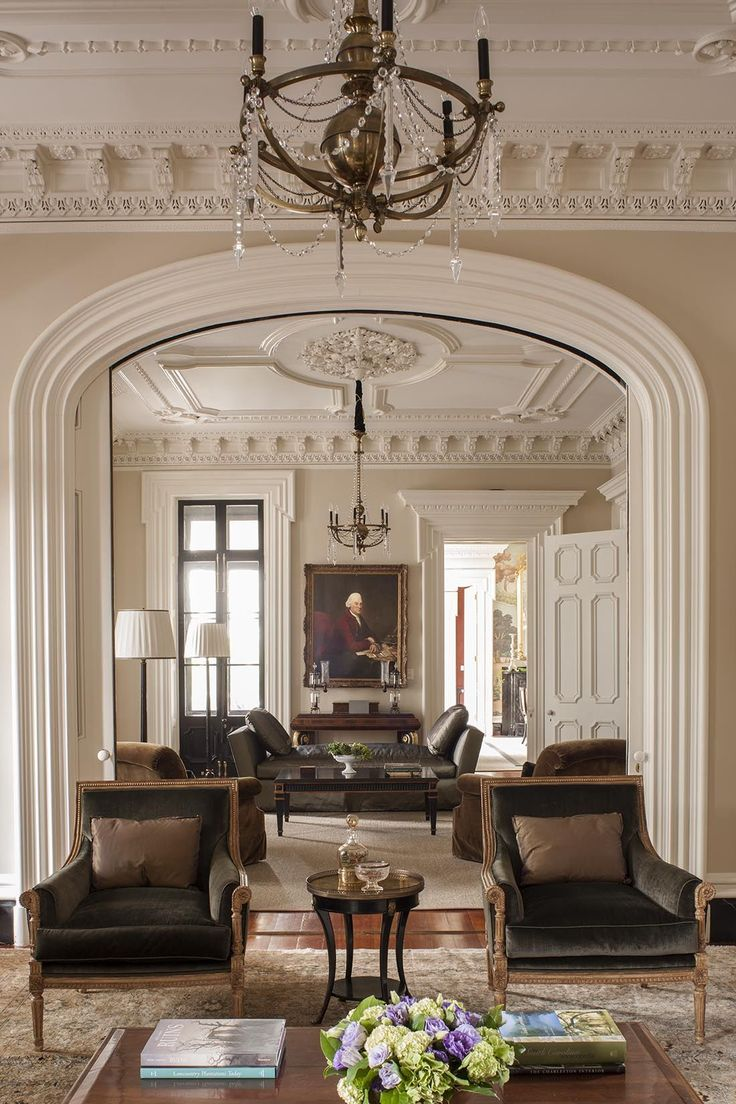 Charleston - Traditional - Living room - Images by SLC Interiors   Wayfair