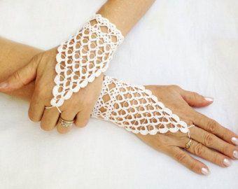 PDF Tutorial ganchillo patrón guantes sin por accessoriesbynez