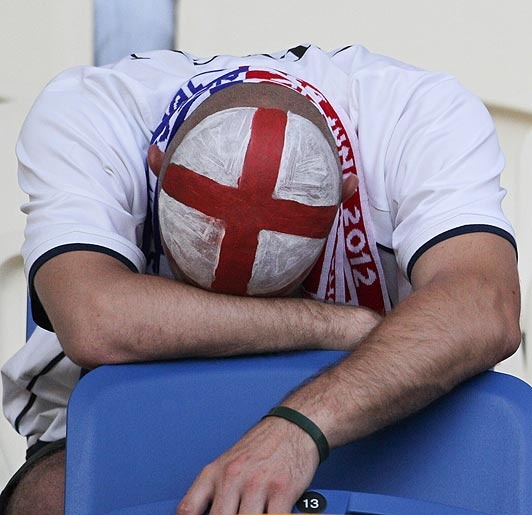 Italy all ends in tears  Agony for England fans after penalty exit  But cheers for Roy's battling heroes