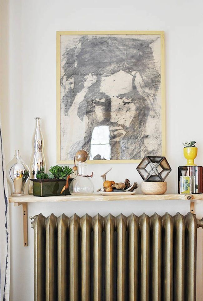 Exceptional Over The Radiator Shelf.i Would Love A Rad To Do This With